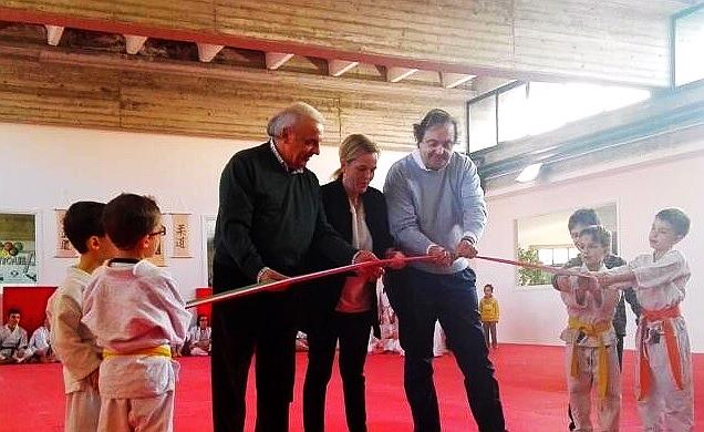 Busto arsizio inaugurata la sede della pro patria judo alle scuole galilei nei locali della - Piscina busto arsizio ...