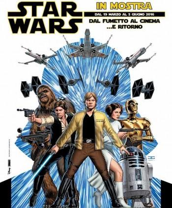 Star Wars museo del fumetto Milano