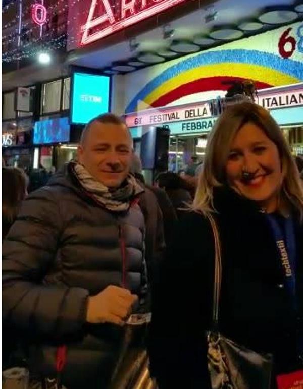 Rudy Neri e Barbara Reina a Sanremo 1