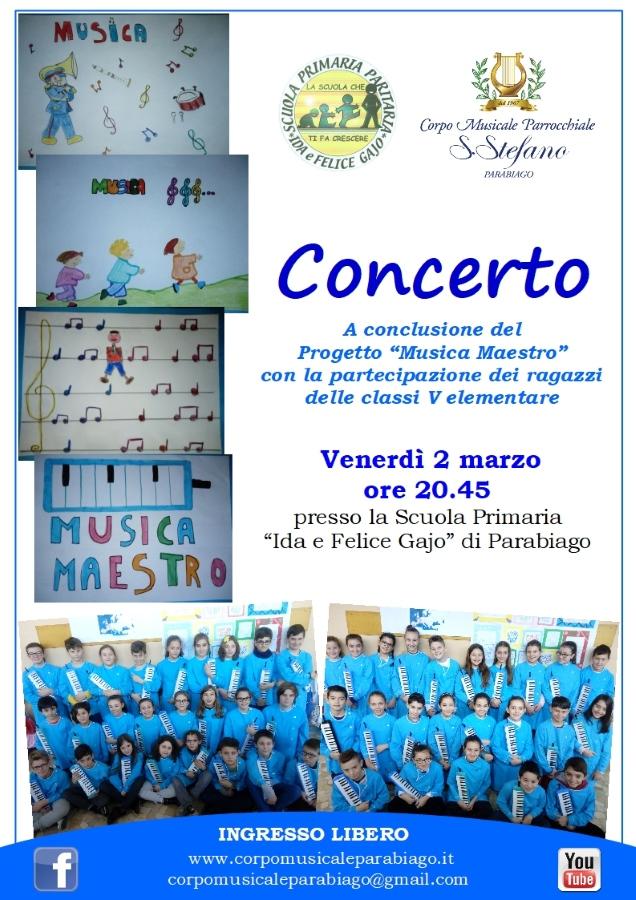 concerto scuola