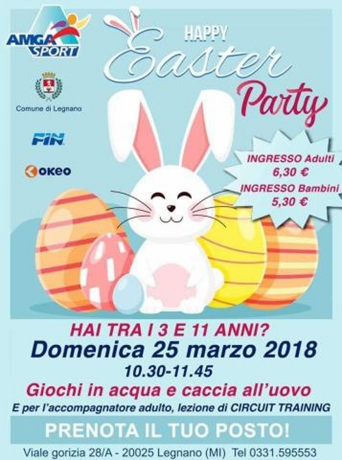 Happy easter LEGNANO